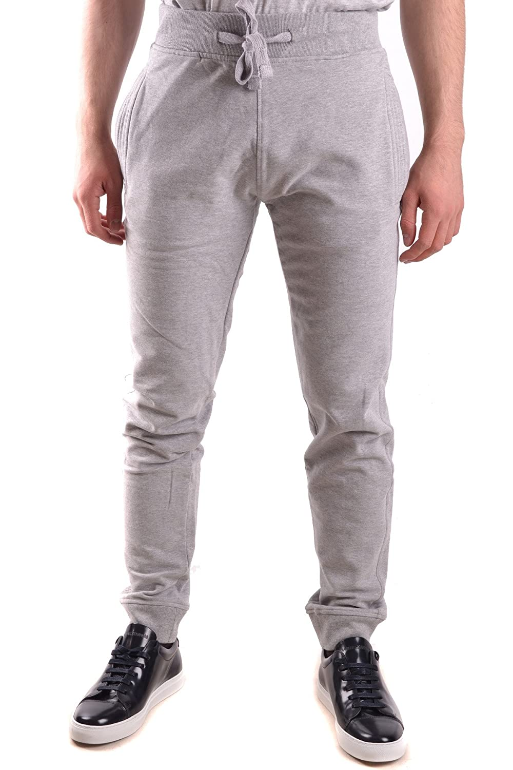 aeronautica militare men s mcbi391002o grey cotton joggers amazon