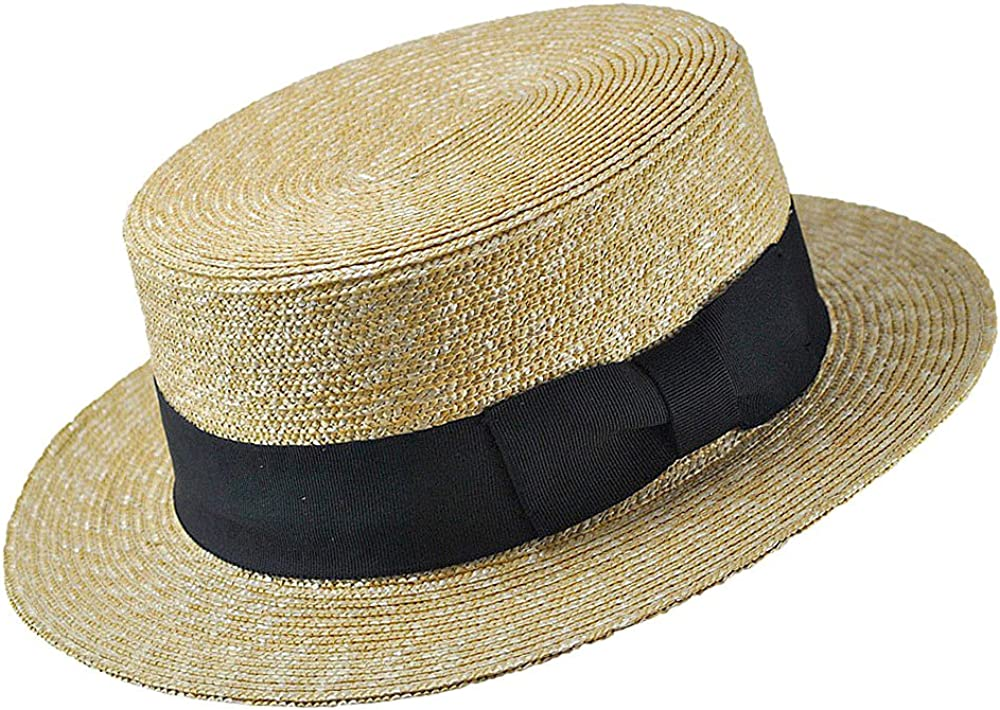 UNISEX STRAW COWBOY HAT WITH LEATHER BAND S M L XL XXL NEW