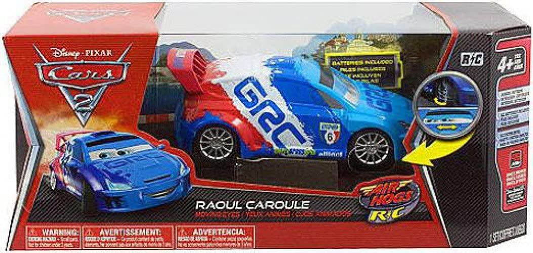 Amazon Com Disney Pixar Cars 2 Movie Exclusive Air Hogs R C 124 Scale Moving Eyes Raou Toys Games