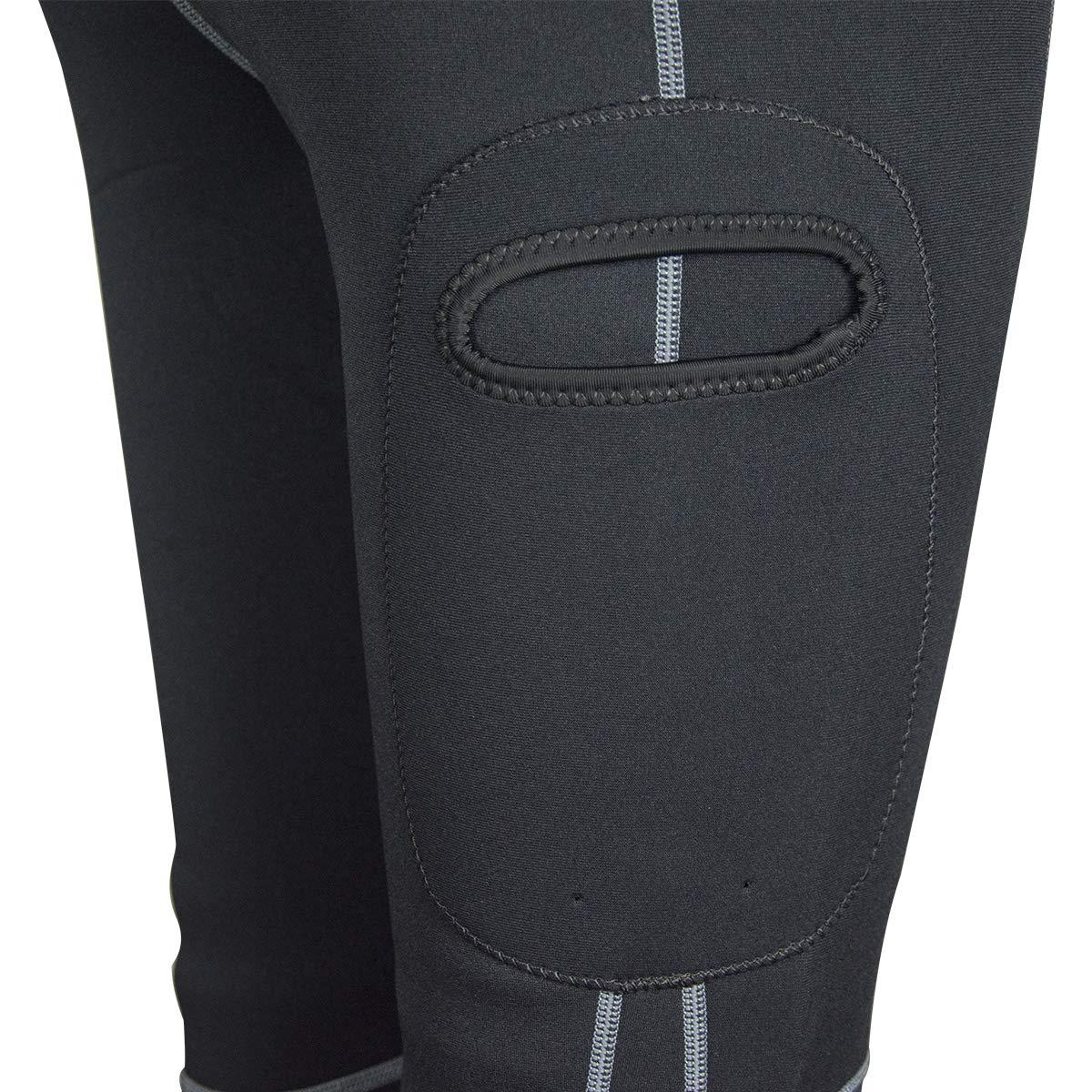 LayaTone Pantalon en N/éopr/ène 3mm Combinaison Plong/ée Surf Kayak Hommes Jambi/ères de Plong/ée Femmes Hommes