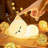 Cute Kitty Kids Night Light, Cat Kawaii Birthday Gifts Room Decor Bedroom Decorations for Baby Toddler Teens Girls Boys Child