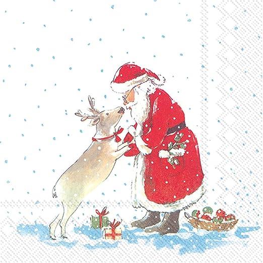 250 Christmas Merry Xmas Holly Berry NAPKINS 33cm 2ply serviettes Festive Party