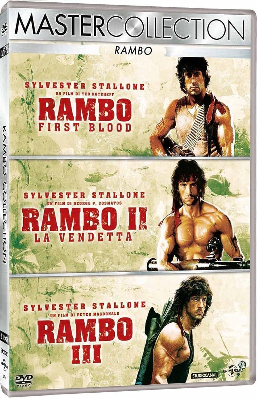 Rambo Trilogia (3 DVD) [Italia]: Amazon.es: vari, vari, vari: Cine y Series TV