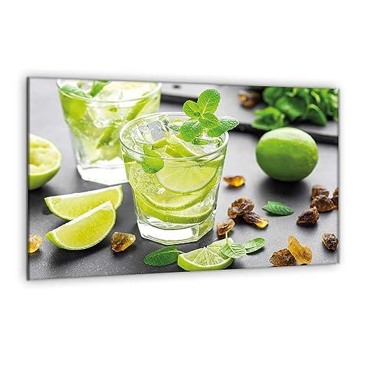 Compra decorwelt | para cubrir la vitrocerámica limas verde ...