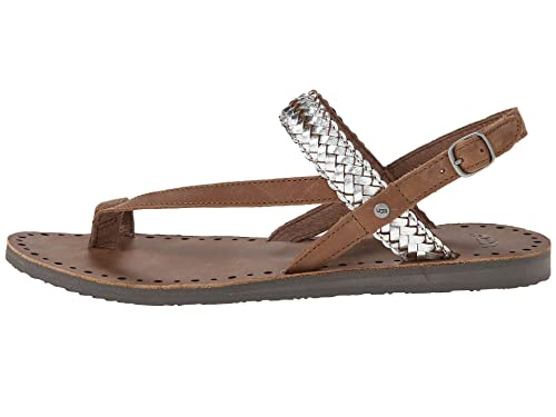 72cd5e438a5 Amazon.com | UGG Australia Raee Braided Leather Toe Ring Sandals (5 ...