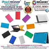 "mCover Hard Shell Case for 14"" HP Chromebook 14 G5"