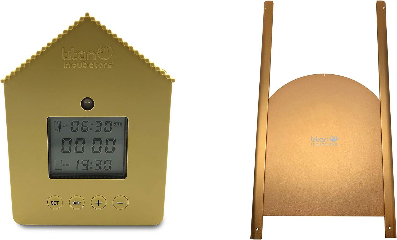 Coop Door Opener Elite Light Sensor and Timer Automatic Chicken House