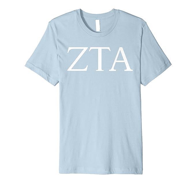 Mens Zeta Tau Alpha Shirt College Sorority Fraternity Tee 2XL Baby Blue 59a24ecd0bef