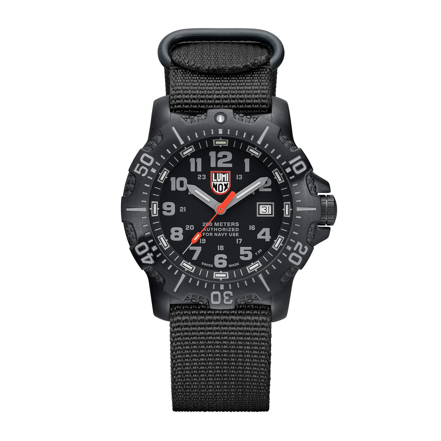 Luminox Divers Mens Watch in Black A.N.U. (Authorized for Navy Use) (XS.4221/4200 Series) - 200m Waterproof Stainless Steel Case Antireflective Sapphire Crystal by Luminox