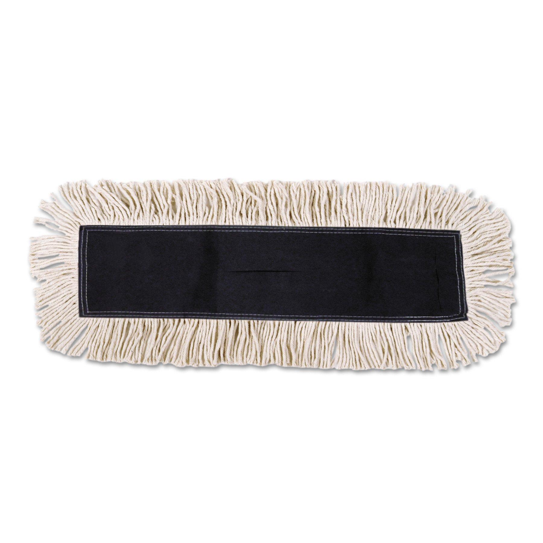 Boardwalk 1648 Mop Head, Dust, Cotton/Synthetic Fibers, 48 x 5, White