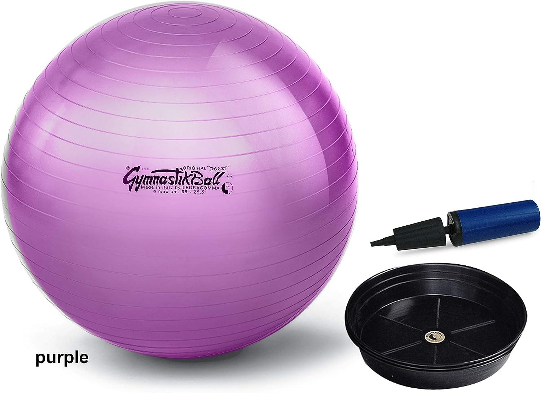 Ballon d/'aérobic PEZZI Softball MAXAFE 15 cm Vert Gym Excersising Vert...