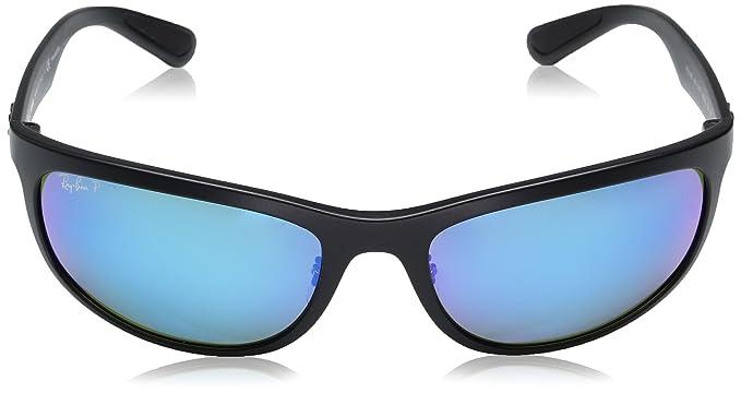 2338cd0f58 Amazon.com  Ray-Ban RB4265 Chromance Lens Wrap Sunglasses