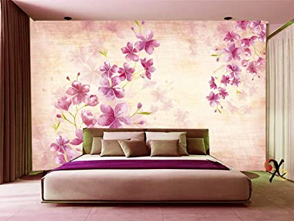 Buy Creativo 3D Effect HD Wallpaper of Girly Pink Floral Art for ...