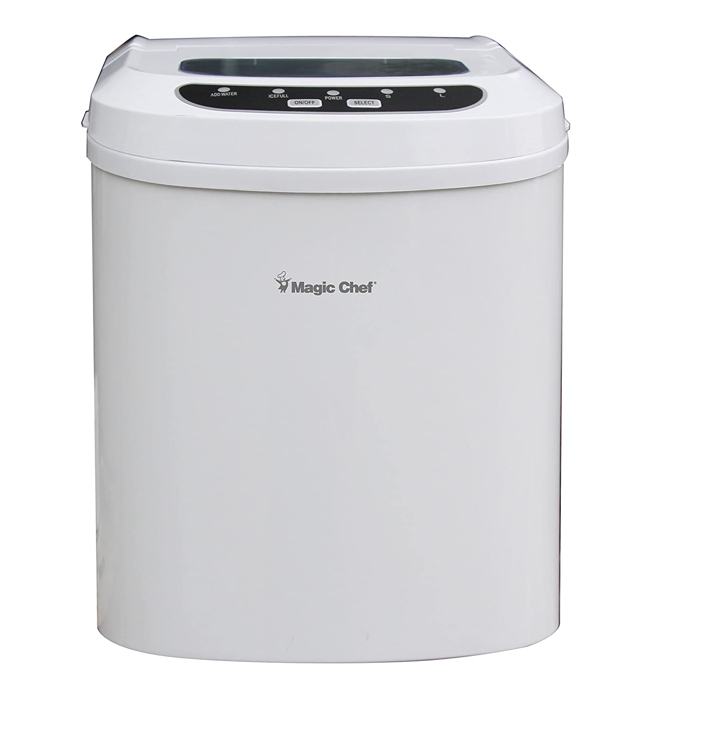 Magic Chef 27-Lb. Portable Countertop MCIM22W 27 lb Ice Maker White