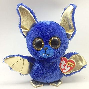 Havota Stuffed & Plush Animals - Plush Animals Stuffed Boys - Ty Nie Boos 6 Quot 15Cm Ozzy The Blue Halloween Bat Plush Regular Soft Stuffed Animal Collectible