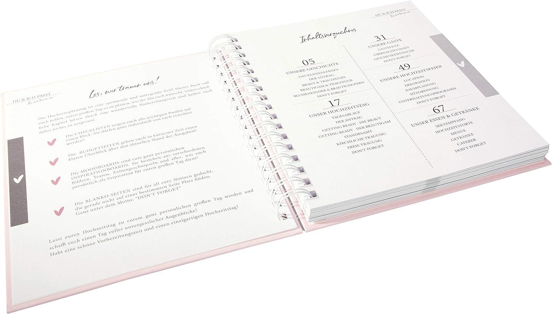 Libro de oro color Planificador de boda 23,5x22 cm