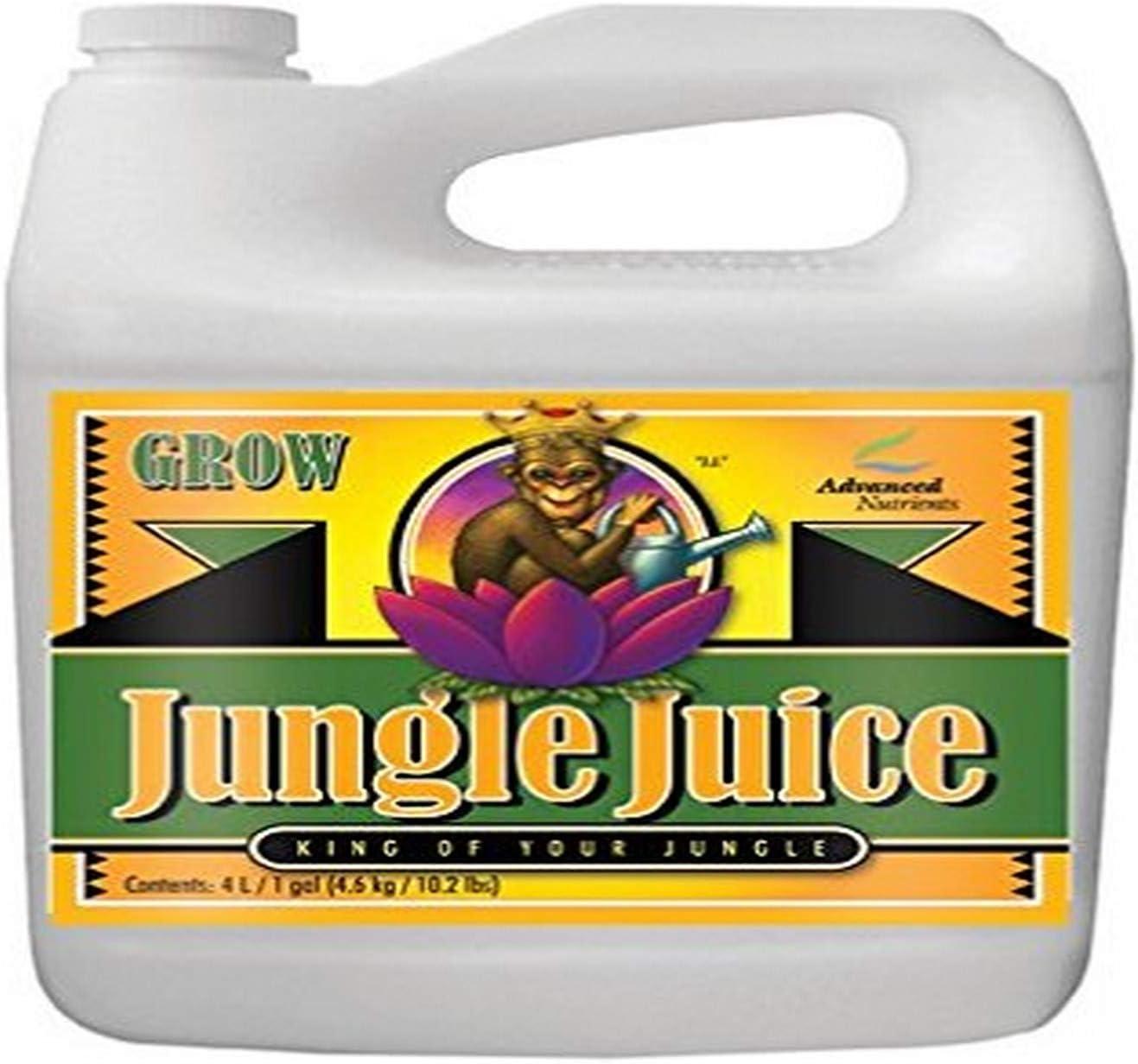 Advanced Nutrients 1725-15 Jungle Juice Grow Fertilizer, 4 Liter, Brown/A