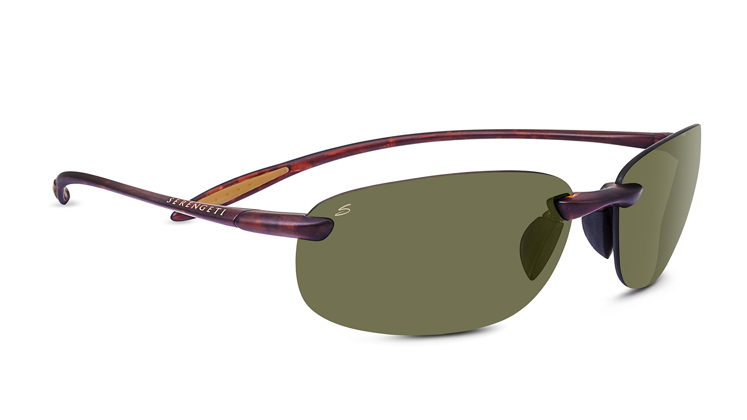 Serengeti 8370 Nuvino Polar PhD 555NM Sunglasses, Satin Tortoise Frame by Serengeti