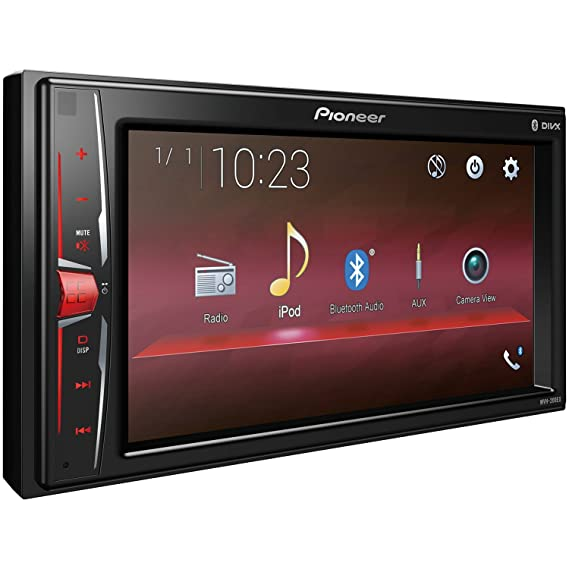 Amazon Com Pioneer Mvh 200ex Double Din Bluetooth In Dash Digital