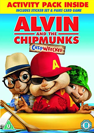 amazon com alvin and the chipmunks chipwrecked dvd u movies tv
