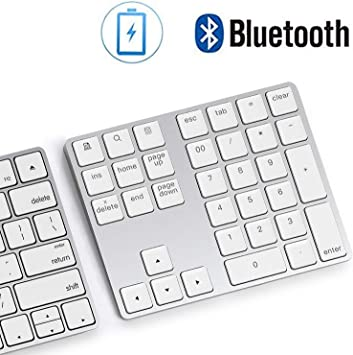 USB Numeric Keypad Number Keyboard Pad Wired Plam Size 18 Keys Black