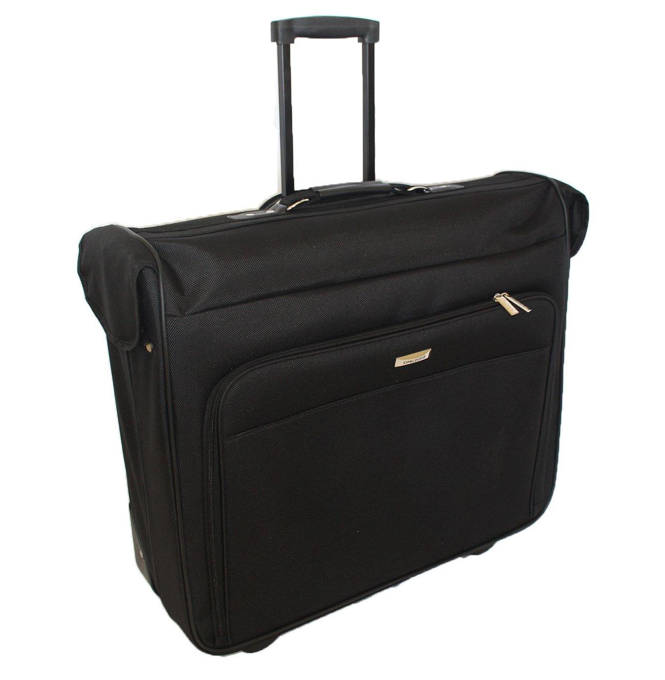 44-In. Wheeled Garment Bag in Black