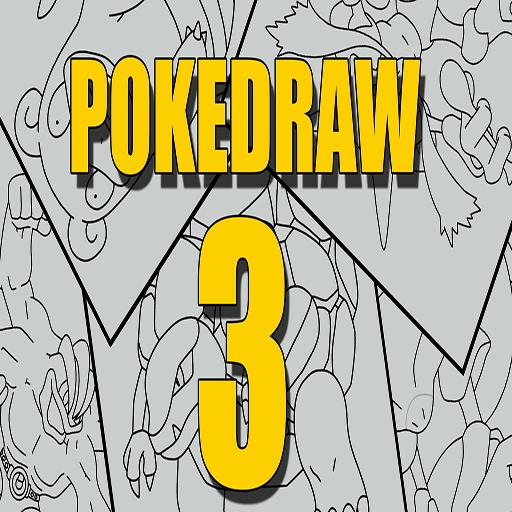 how to draw a poke - 7