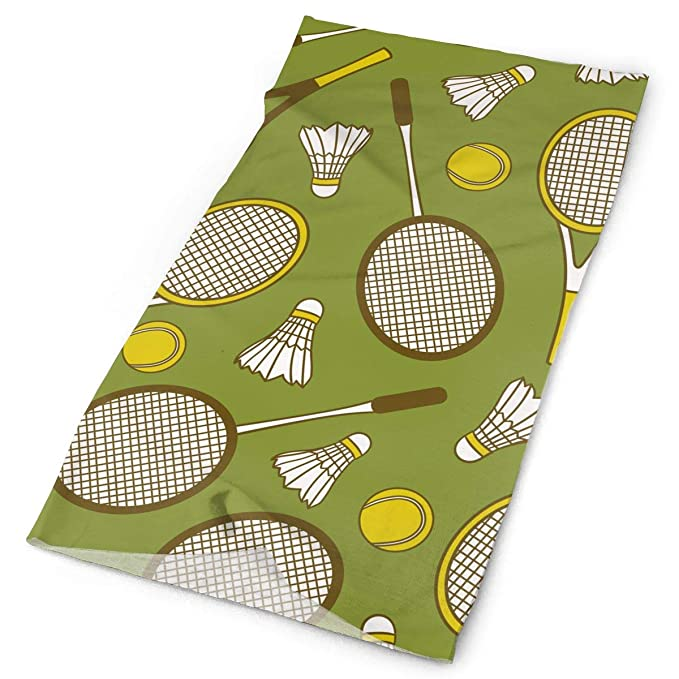 Amazon.com: Tennis Badminton Bandanna Headwear Neck Gaiters ...