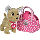 Smoby ,Chichi Love - Showstar Happy Interactive - Peluche Interactive - + Sac de Transport et Collier