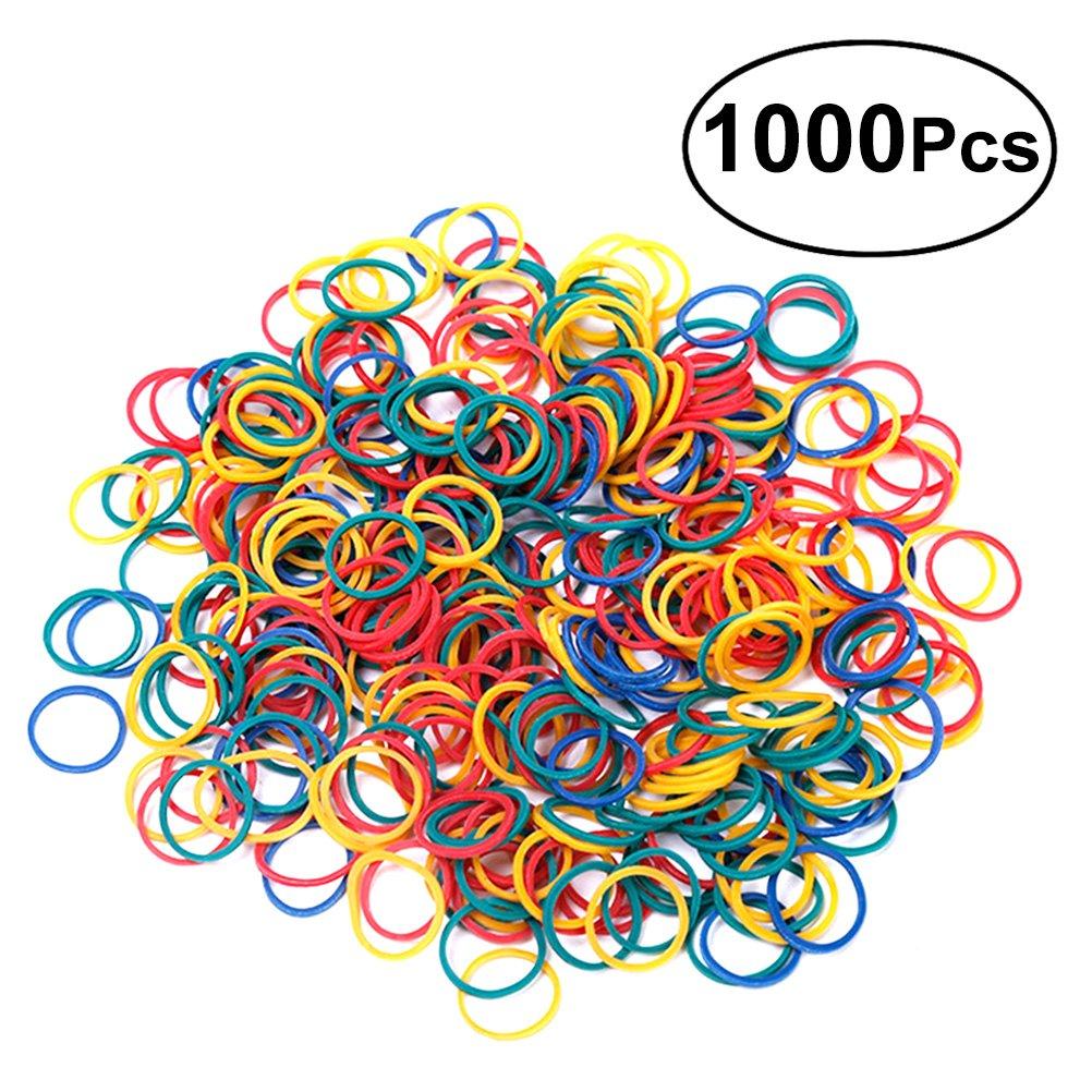 bancario o d oficina.1000pezzi toymytoy el/ástica gomas colores dinero Bandas el/ásticas de uso general para uso dom/éstico