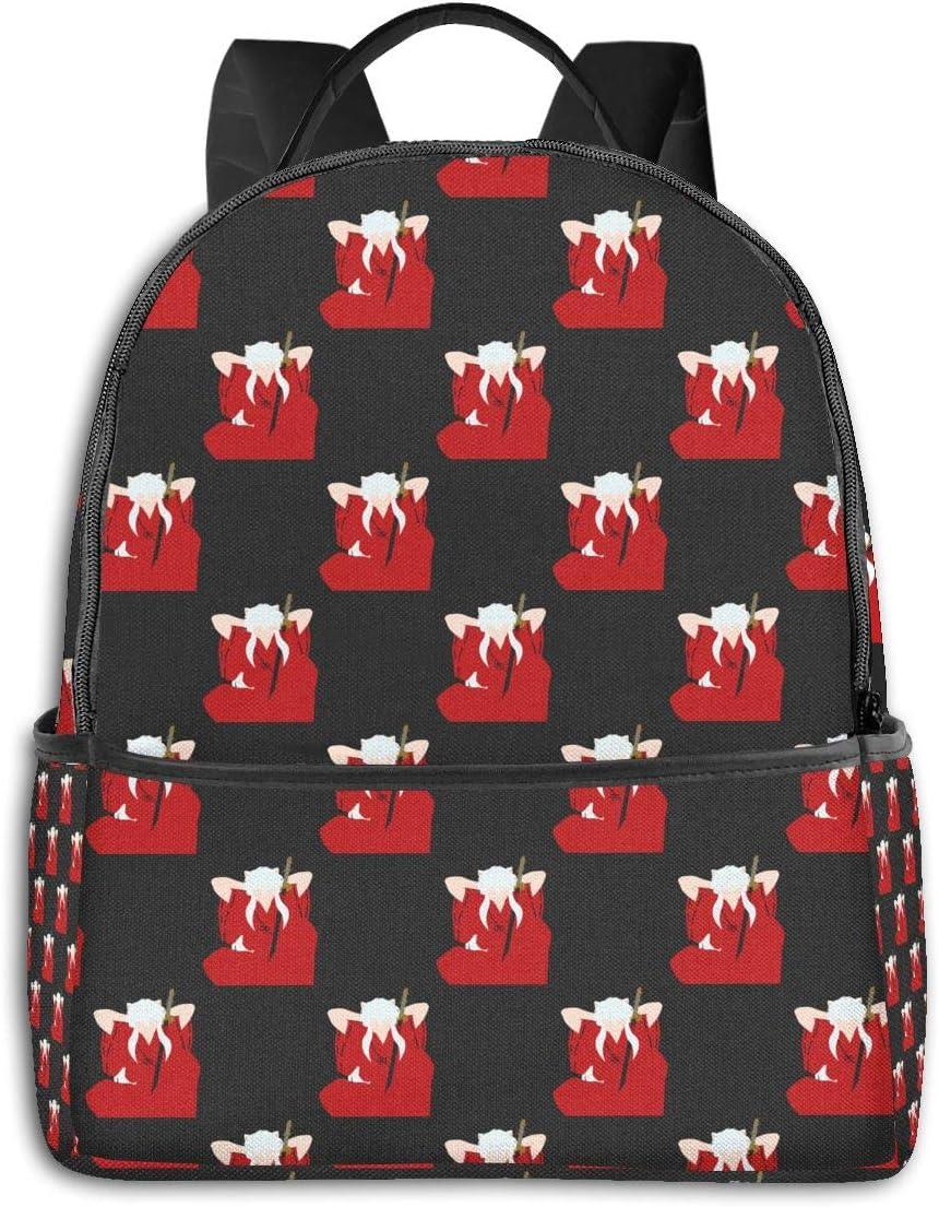 Inuyasha School Backpack for Boys Girls Laptop Bag Sports Traveling Daypack 16.512.55.5 in