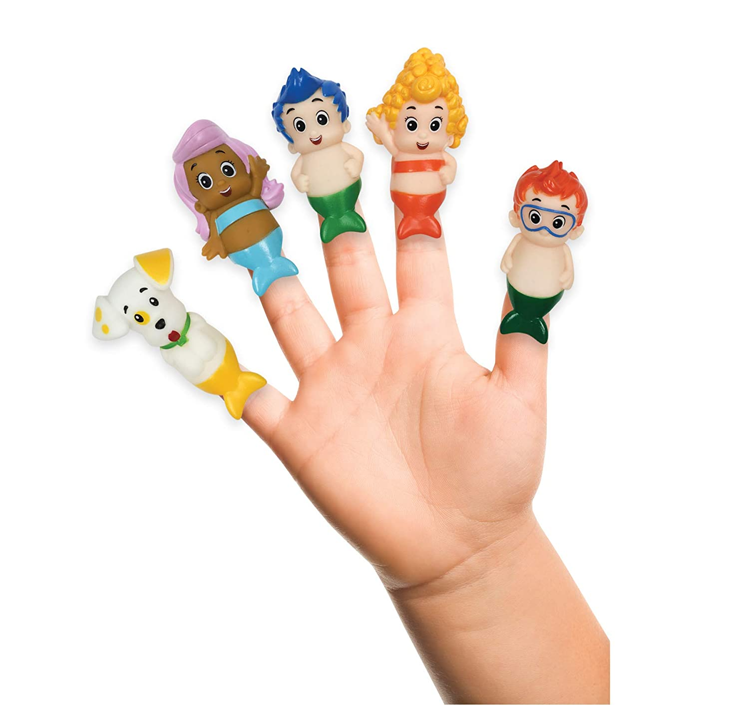 Nickelodeon Bubble Guppies Finger Puppets