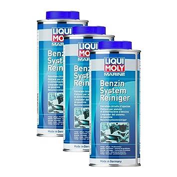 3 x Liqui Moly 25010 Marino Sistema de gasolina de limpiador 500 ml: Amazon.es: Coche y moto