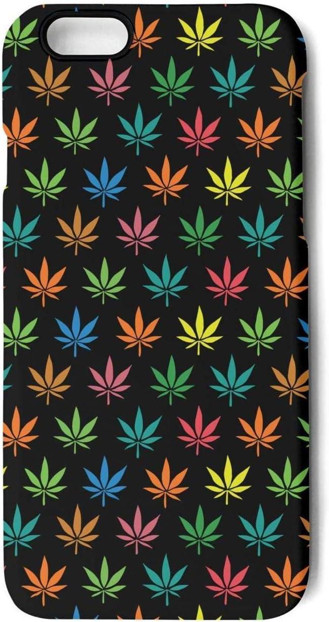 Adecuado para I-Phone 7Plus/8Plus teléfono móvil Caso Shell Ultra-Delgada Cubierta de protección de la Caja Trasera el thinnest (semilla de Marihuana),K