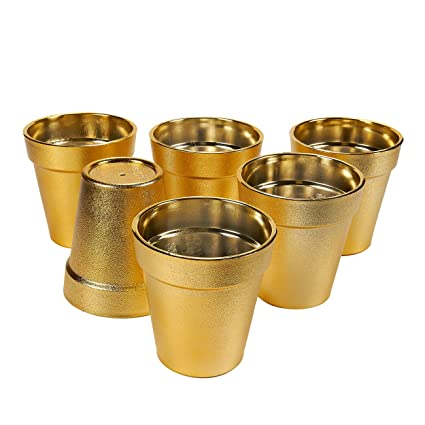 Image Unavailable  sc 1 st  Amazon.com & Amazon.com: Plastic Plant Pot \u2013 6 Pack Small Flower Pots Flower Pot ...