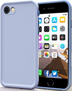 LOVE BEIDI iPhone 8/7 /SE 2020 Waterproof Case Cover Built-in Screen Protector Fully Sealed Life Shockproof Snowproof Underwater Protective Cases for iPhone 8 7 SE 2020 4.7