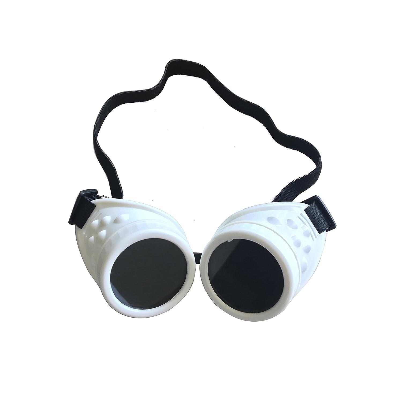 Steampunk Cyber-Schweißerbrille, Gruftistil, Cosplay, Vintage, rustikal
