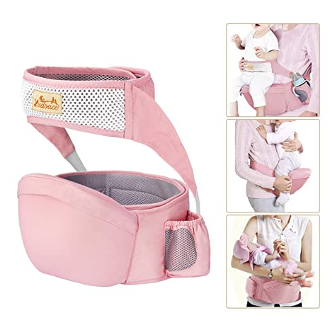 Viedouce - Asiento de cadera para bebé con protección de cinturón ...