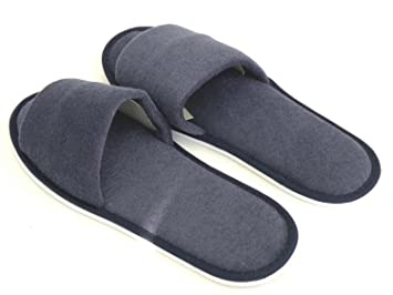 204eebcf12d9 Amazon.com   Spa   Indoor Slipper-Blue Terry Cloth