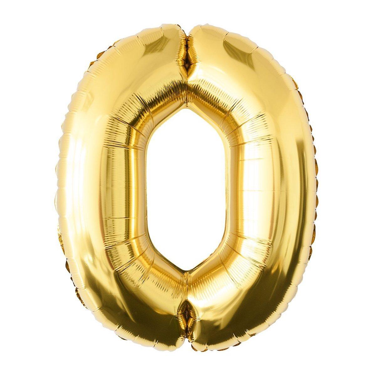 NUOLUX 52.49 pulgadas N/úmero de Oro 50o Globo Party Festival Decoraciones Cumplea/ños Aniversario Jumbo Foil Globos Suministros de Fiesta Foto Accesorios