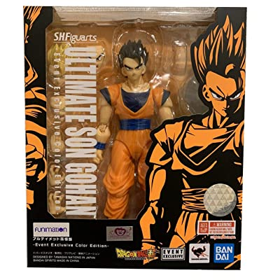 Tamashii Nations SDCC 2020 Exclusive S.H. Figuarts Dragonball Ultimate Son Gohan DBZ: Toys & Games