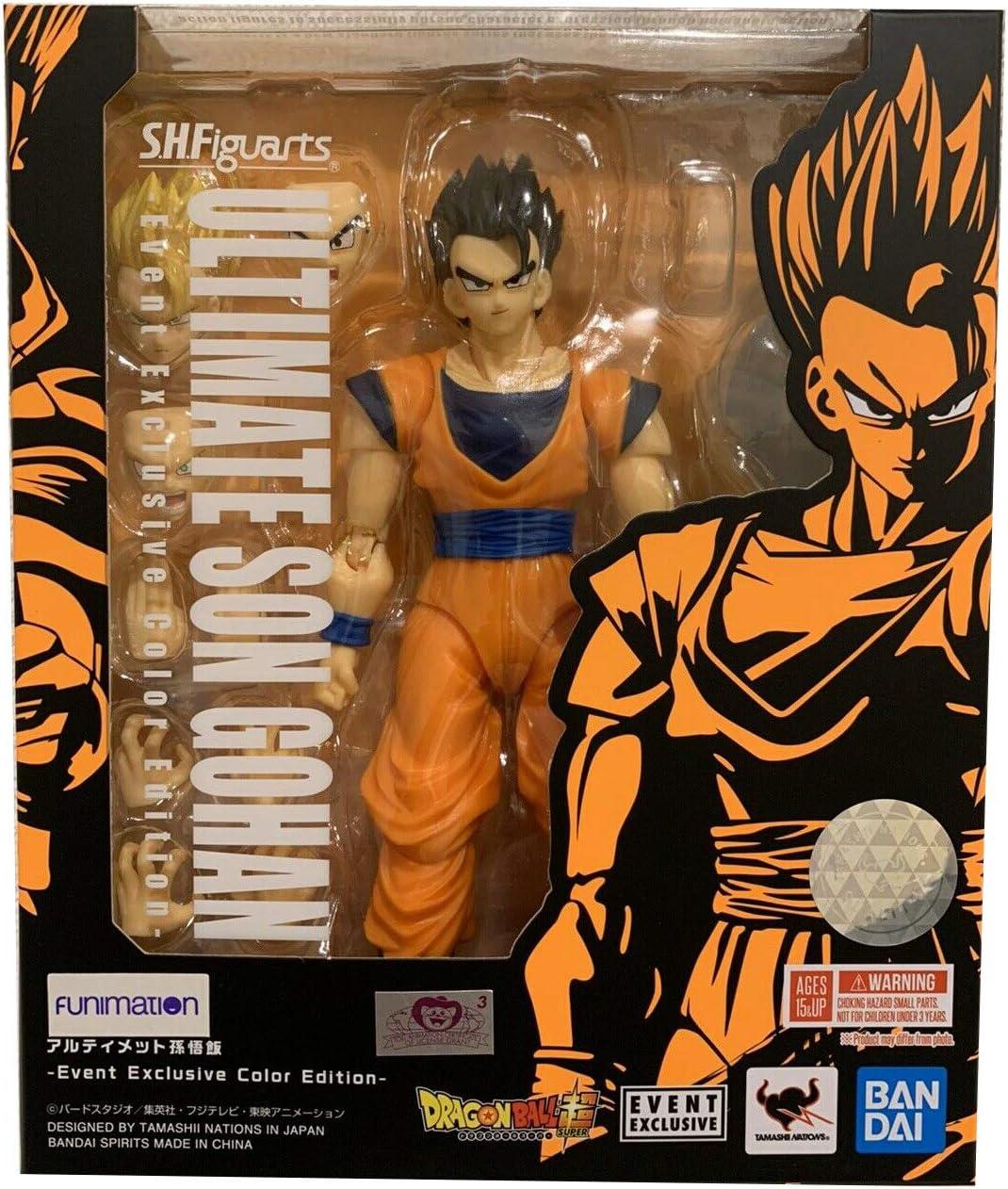Figuarts Dragon ball Z Great Saiyaman Son Gohan Action Figure New In Box S.H