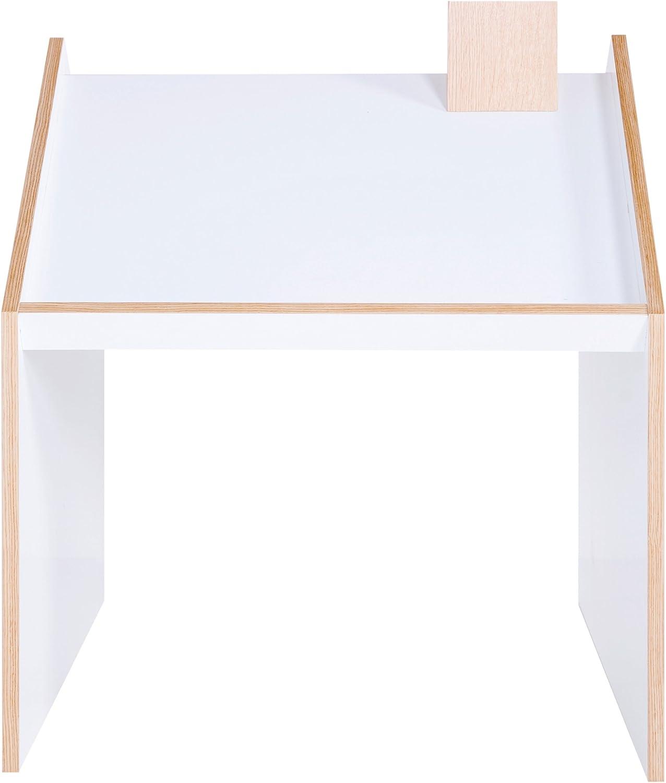 Oak//White Ninetonine Deskhouse Table