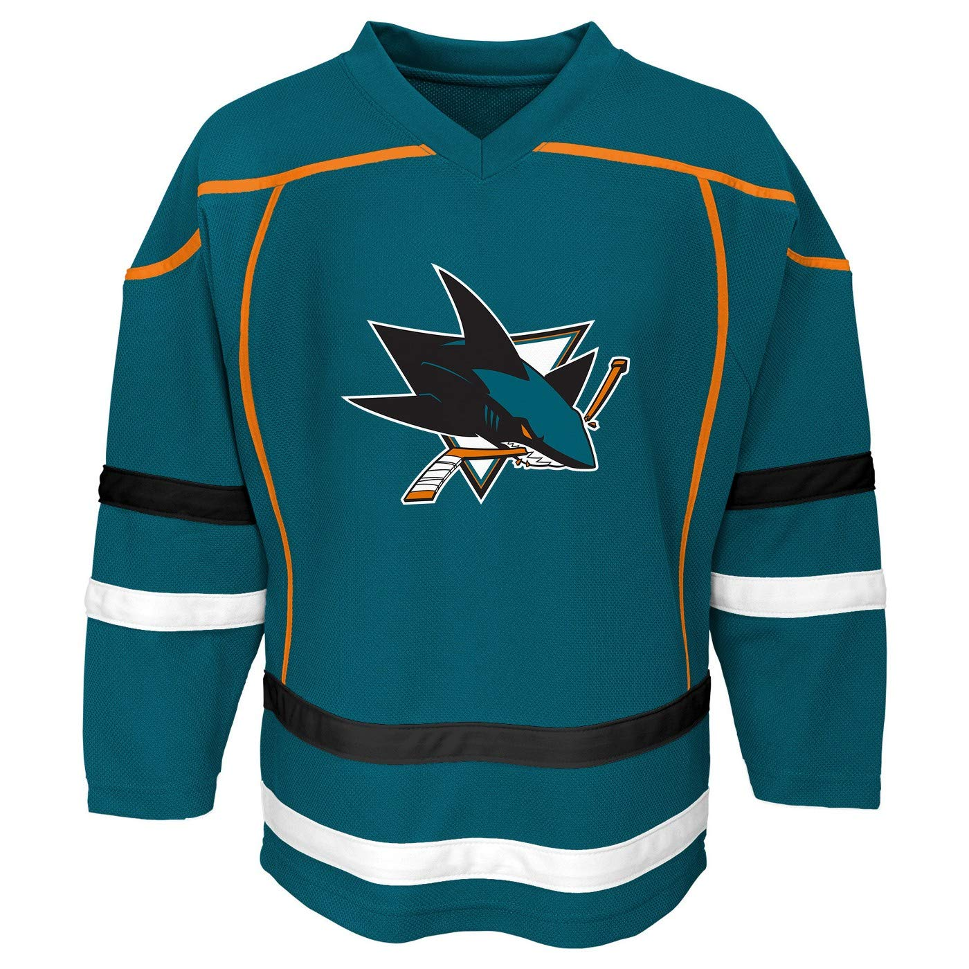 new style d34ce f17dc Boys Brent Burns San Jose Sharks #88 Teal Youth Replica Home ...