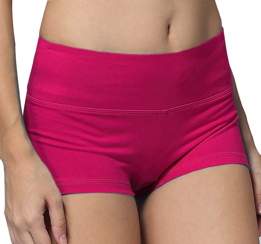 iLoveSIA Womens Knickers Yoga Gym Pants Stretch Boy Shorts E711129