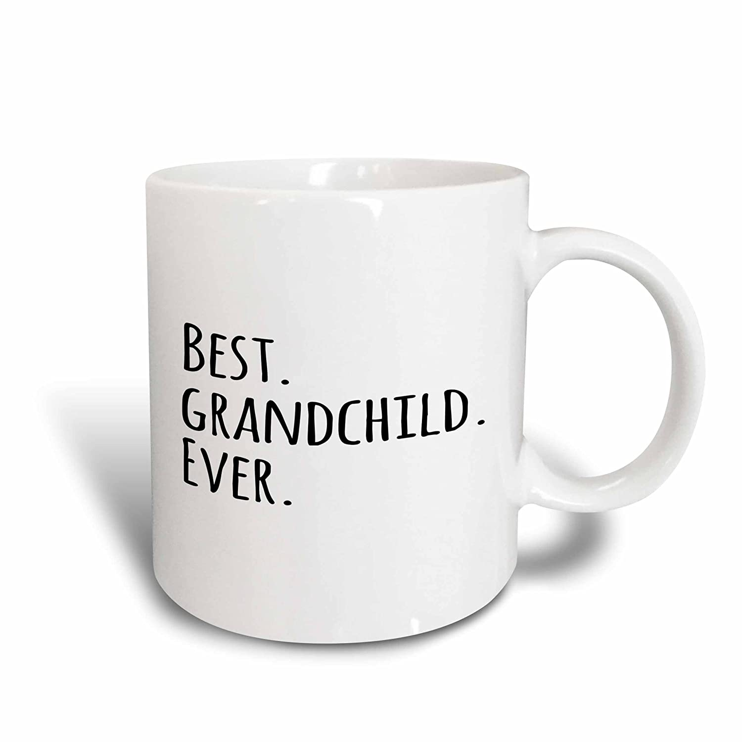 11 oz Black 3dRose 151505/_1Best Grandchild Ever Mug