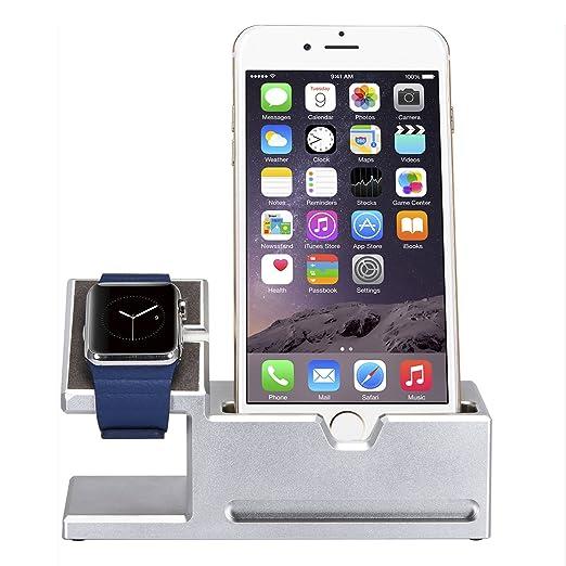 EasySMX [Apple Accesorio que Debe Tener] 2-en-1 Soporte de ...