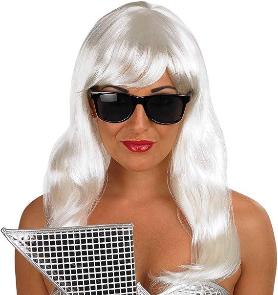 Lady Gaga Pop Diva Wig And Sunglasses (peluca): Amazon.es: Juguetes y juegos