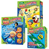 The Super Wall Coaster Set: Includes Super Starter Kit, Extreme Stunt Kit, and Crazy Stairs Add-On Pack