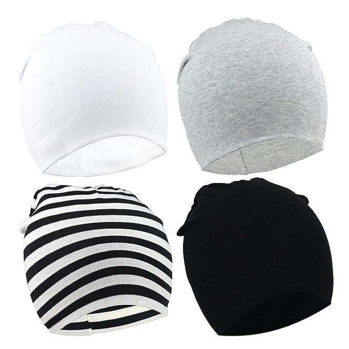 bd0f6c6c Petit Tourbillon Newborn Hat Knotted Hospital Hats Boys Infant Cap Baby  Beanies: Amazon.ca: Clothing & Accessories